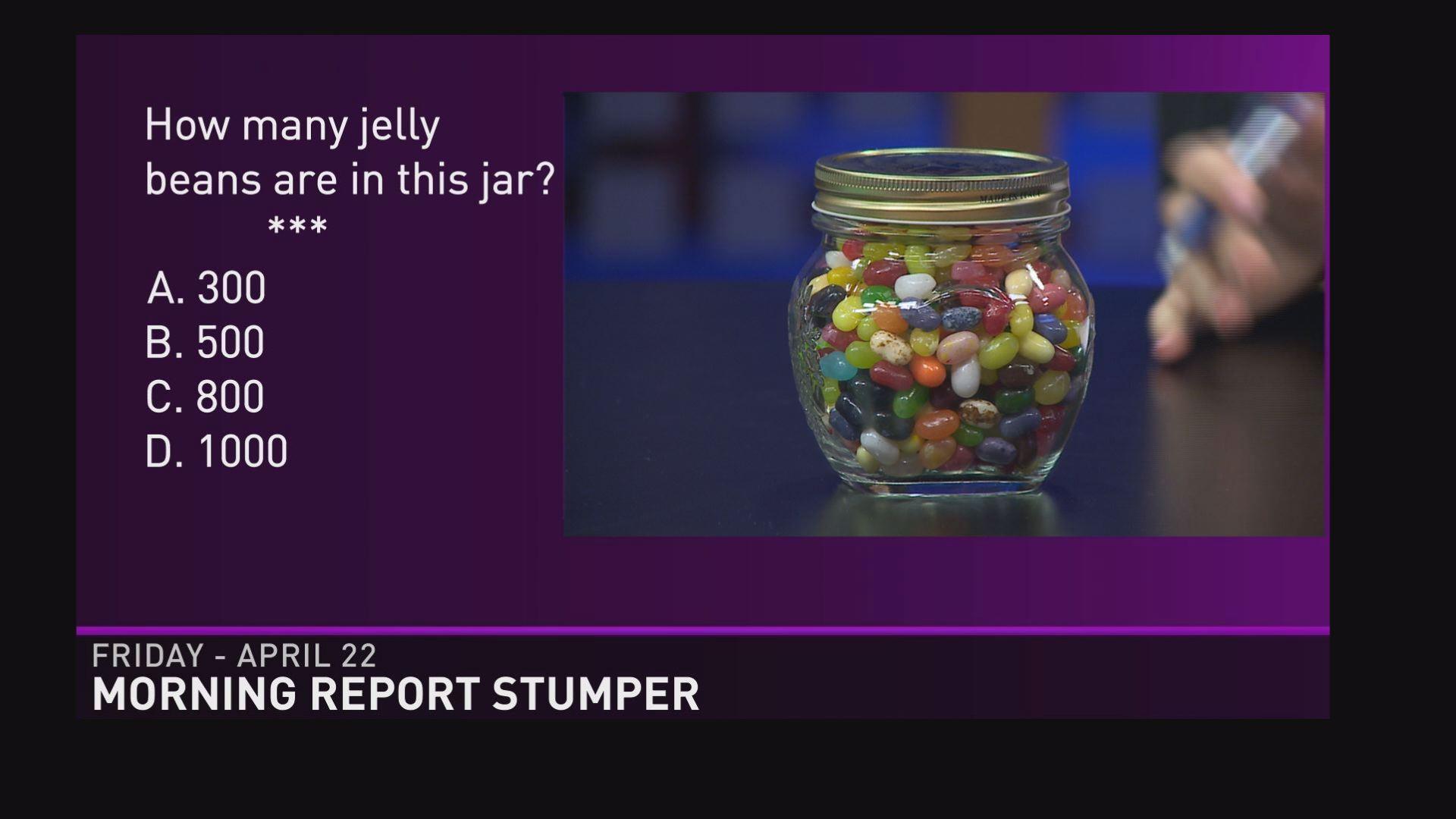 Peanut M&Ms in a Jar  Jelly Bean How Many Slips