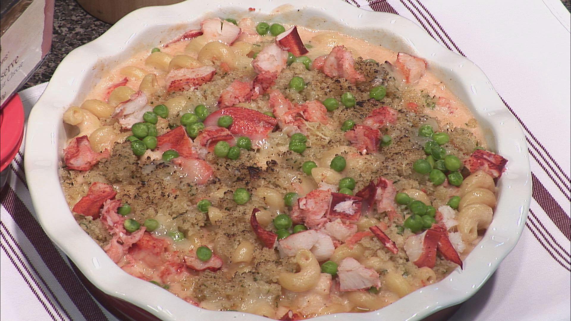 newscentermaine.com | Lobster Mac & Cheese - Chef Vito Marcello
