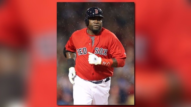 David Ortiz Gets Batting Practice Home Run Ball Stuck In Pesky Pole | WLBZ2.com