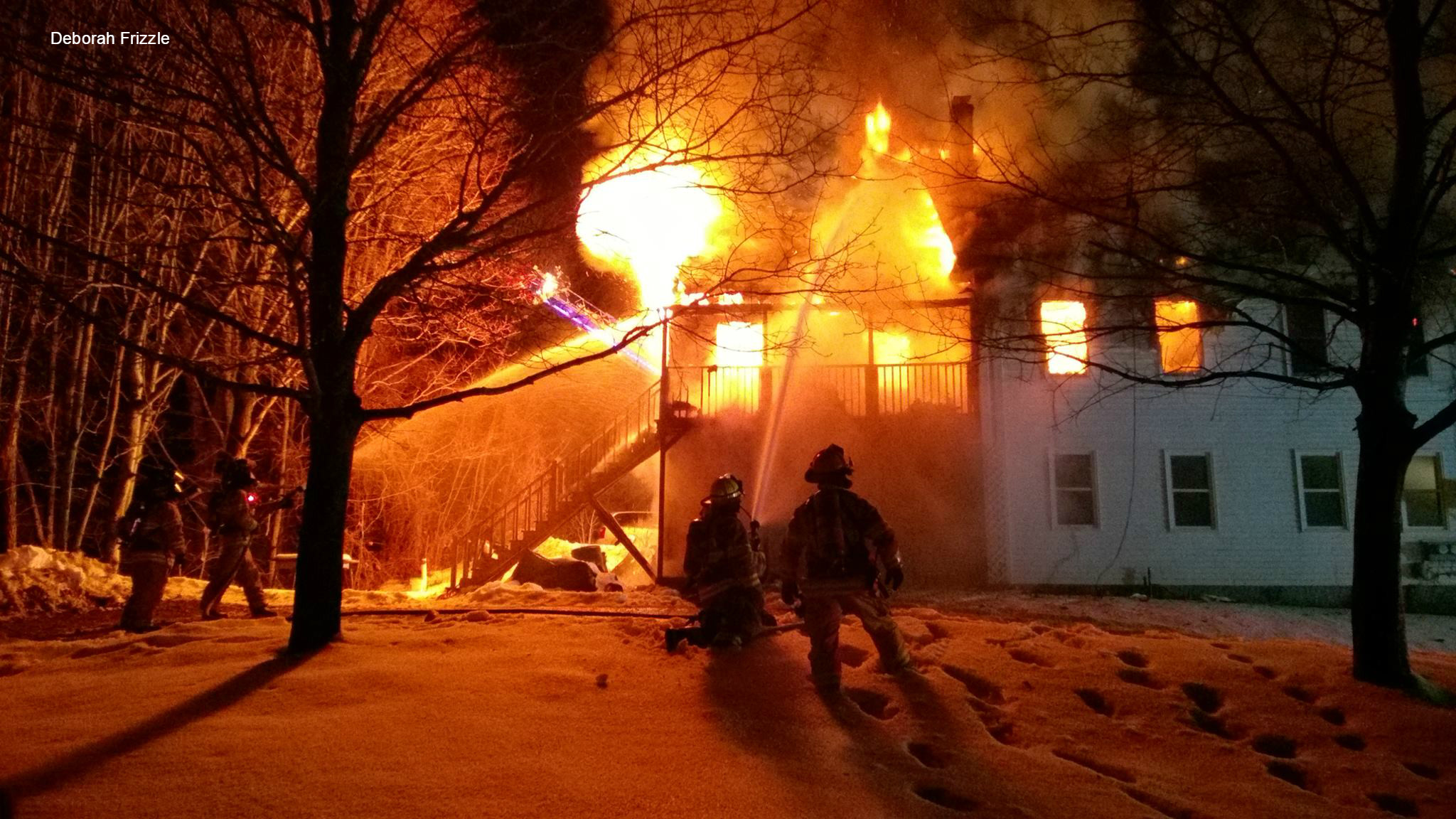 Christmas Morning House Fire Seriously Injures Richmond Man Wlbz Com