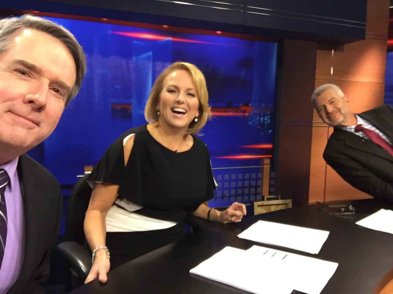 NEWS CENTER strikes a pose for National Selfie Day