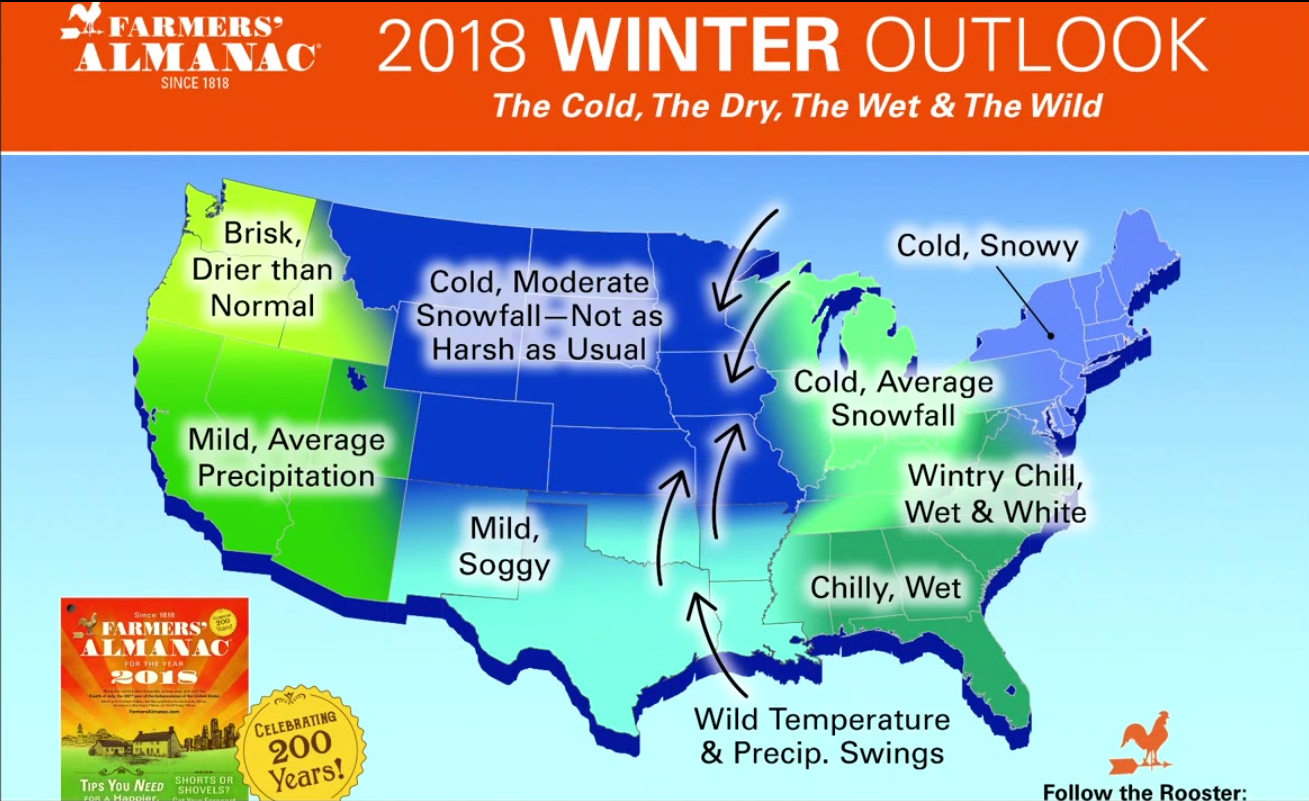 Almanac Get Ready Maine This Winter Will Be No Joke